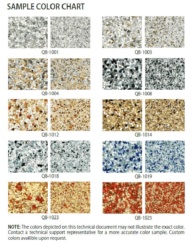 Quartz Color Chart